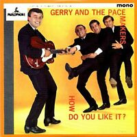 *NEW* CD Album Gerry & Pacemakers - How do you like it (LP Style Card Case)