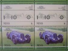 1935 DELAHAYE Type 35 Cabriolet Car 50-Stamp Sheet Auto 100 Leaders of the World