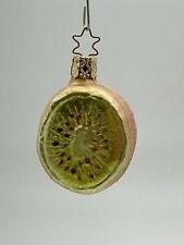 New ListingInge Glas Kiwi Glass Christmas Tree Ornament ~ Germany