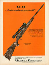 1970 Print Ad of Harrington & Richardson H&R Ultra Wildcat Model 317 Rifle