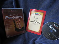 Gilbert & Sullivan opera The Gondoliers DVD with production libretto - Mitchell