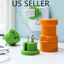 Universal Travel AC US EU UK AU World Wall Plug Power Socket Converter Adapter