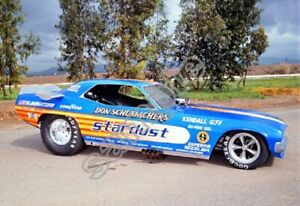 Don Schumachers Stardust Cuda Funny Car Drag Racing 13x19 Poster Photo 186