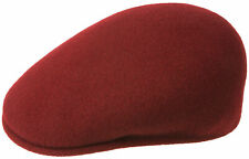 Kangol 504 Flatcap - Men's Women's Peaked Cap Winter Hat Woolly Hat - 100% Wool