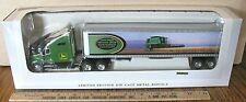 John Deere Harvest Works 9750CTS Combine Kenworth Semi Truck 1/64 Spec Cast Toy