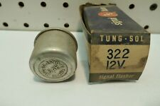 332 Tung-Sol Flasher 12v 2 Pin For 3-32CP Lamps, Free US Ship ~