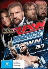 WWE - Best Of Raw Smackdown 2013 (DVD, 2014, 3-Disc Set) - Region 4
