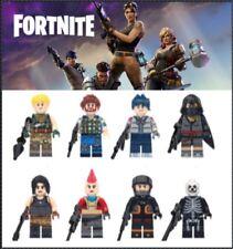 8 Pcs Fortnite Mini Figures Gift Set Minifigure Fits Lego Xmas Stocking Filler