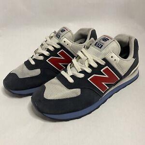 New Balance 574 Core Plus Classic ML574ESC Retro Chili Running Shoes Men's 10