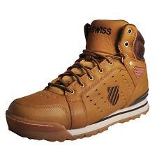 K-Swiss Norfolk Men's Shoes Outdoor BOOTS High Top Trainers 05081 Hoke Brown UK 12 Bone Brown-espresso 05081-219