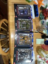 Master Of The Universe Revelation lot Of 4 He Man Skeletor Evil Lyn And Moss Man