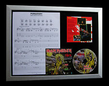 IRON MAIDEN Purgatory GALLERY QUALITY CD LTD FRAMED DISPLAY+EXPRESS GLOBAL SHIP