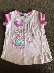 Girls Size 3 Peppa Pig Shirt