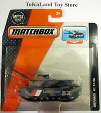 C2 Matchbox 2015 Real Working Rigs Abrams A1 Military Tank