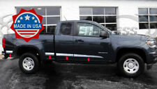 13-2019 Chevy Colorado/Canyon Extended Cab Long Bed Flat Body Side Molding Trim