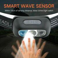 USB Rechargeable LED Headlamp Headlight Flashlight Head Lamp Torch Waterproof *