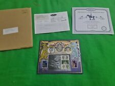 Limited Edition Her Majesty's Stamps Miniature Sheet and 1953 Crown Coin COA