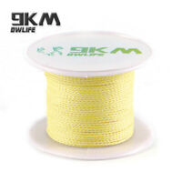 200ft 100lb Test Braided Kevlar Line for Ultra Fishing Leader Made with Kevlar