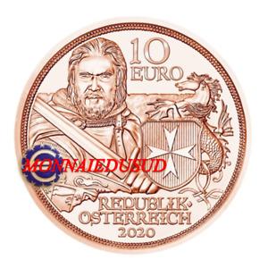 10 Euro Commemorative Autriche 2020 - Force et Courage