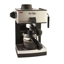 Mr. Coffee 4-Cup Steam Espresso Machine - Black ECM160-RB