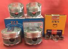 YCP 75mm P29 STD Bore Pistons High Compression + NPR Japan Rings For Honda D16