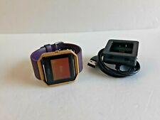 Fitbit Blaze Smart Fitness Watch, Large - Black