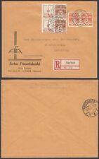 Denmark 1935 - Registered cover to Svendborg .Chocolat/Cacao .(8G-34848) MV-5091