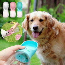 More details for handheld portable dog cat pet water bottle cup drinking travel outdoor feeder uk