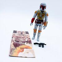 1979 Vintage Star Wars BOBA FETT Complete Figure Hong Kong Mandalorian NO REPRO