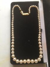 Imitation Pearls Necklace Pearl Necklace Gold Clasp