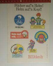 Pegatina/sticker: ikea family sticker Scatter casco casco Scatter cabeza (191016142)