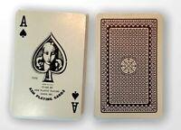 "Vintage 1972 Kem Playing Cards ""Geometric Design"" Black Back Made in USA c.1935"