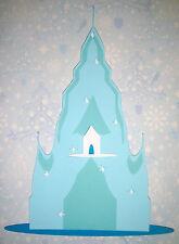 Frozen  Elsa Castle Paper Die Cut Paper Doll Scrapbook Embellishment