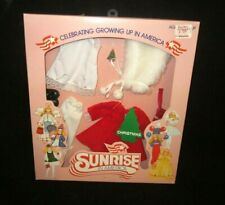 """Sunrise in America Doll Outfit """"Christmas"""" Winter Holiday Vintage 1982 Sealed"""