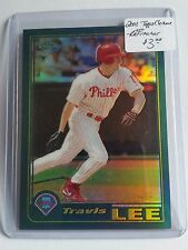 2001 Topps Chrome Retrofractors #98 Travis Lee : Philadelphia Phillies