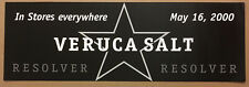 Veruca Salt Rare 2000 Promo Poster w/Release Date of Resolver Cd Never Displayed