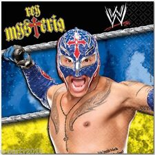 WWE WRESTLING Rey Mysterio LUNCH NAPKINS (16) ~ Birthday Party Supplies Large