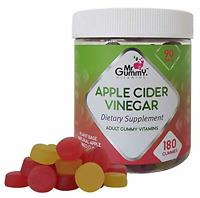 Mr Gummy Apple Cider Vinegar Gummies (180-Count) Promote Fast Fat Burning Wei...