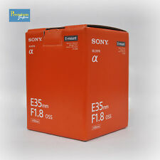 Sony 35mm F1.8 OSS Camera Lens SEL35F18 For E-Mount Japan Domestic Version New
