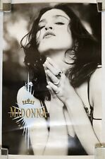 MADONNA Like A Prayer 1989 US Sire Records PROMO Only POSTER Express Yourself
