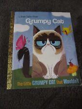 LITTLE GOLDEN BOOK...Hardcover    book...2016....Grumpy Cat