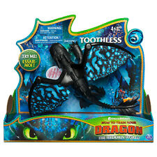 How to Train Your Dragon The Hidden World Deluxe Toothless Figure Brand New
