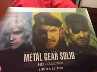 Metal Gear Solid. HD Collection.  Ltd Xbox Edition UK EXCLUSIVE BOXSET.Brand New
