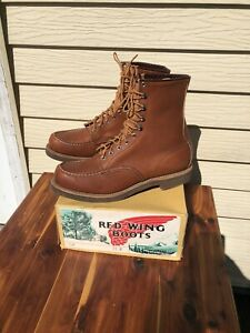 Vtg Red Wing Style #214 Heritage Boots Men's Size 11 Made In USA NOS