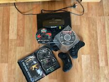 Sega Saturn + 2 Controller + 3 Spiele
