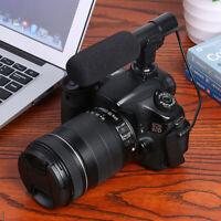 Mic-01 Professional External Stereo Digital Vlog HD Video Camera Microphone
