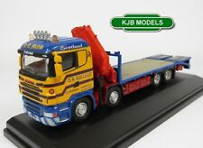 BNIB OO GAUGE OXFORD 1:76 76SCL001 SCANIA CRANE RIGID LORRY DR MACLEOD SCOTLAND