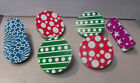 Vintage Lot of (6) Colorful Tin Noise Makers