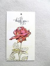500 Price Tags Accessories Tags Cute Rose Clothing Tags Hang Tags-No Loops-