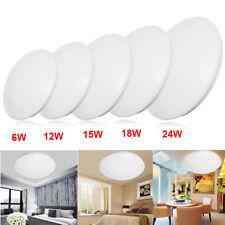 6W -24W OPAL LED Deckenlampe Deckenleuchte Badleuchte Küchenleuchte Licht Rund